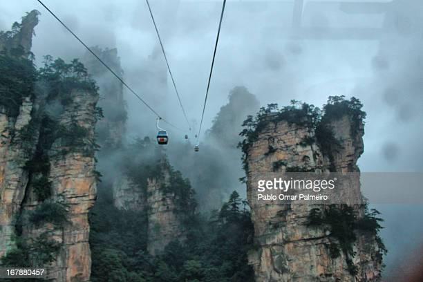 Zhangjiaji (The real Hallelujah Avatar Mountains)