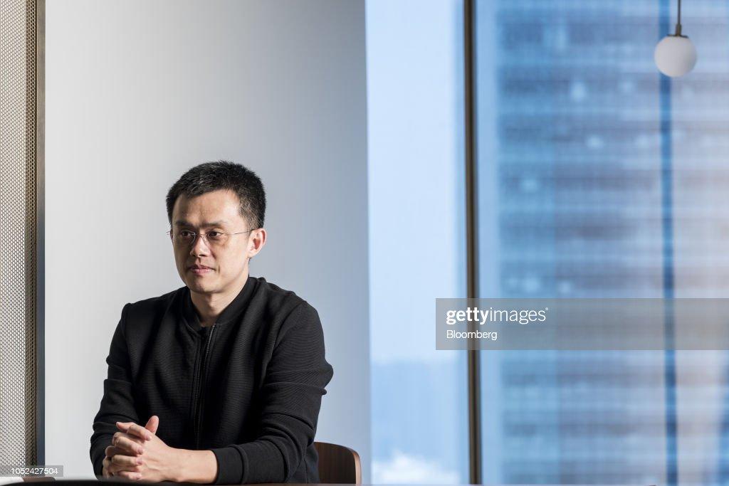 Binance CEO Zhao Changpeng Portraits : News Photo