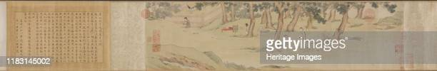 Zhao Mengfu Writing the Heart Sutra in Exchange for Tea, 1542-43. The Yuan dynasty calligrapher Zhao Mengfu is said to have transcribed the Heart...