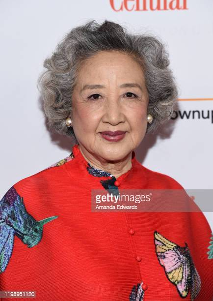 Zhao Shuzhen arrives at AARP The Magazine's 19th Annual Movies For Grownups Awards at the Beverly Wilshire A Four Seasons Hotel on January 11 2020 in...