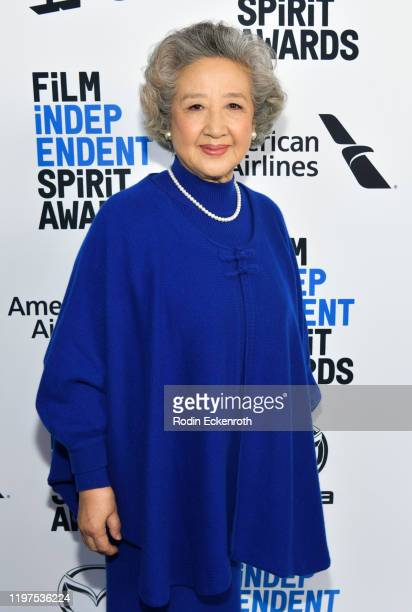 Zhao Shuzhen attends the 2020 Film Independent Spirit Awards Nominees Brunch at BOA Steakhouse on January 04 2020 in West Hollywood California