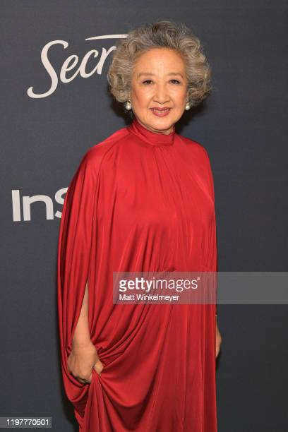 Zhao Shuzhen attends The 2020 InStyle And Warner Bros 77th Annual Golden Globe Awards PostParty at The Beverly Hilton Hotel on January 05 2020 in...
