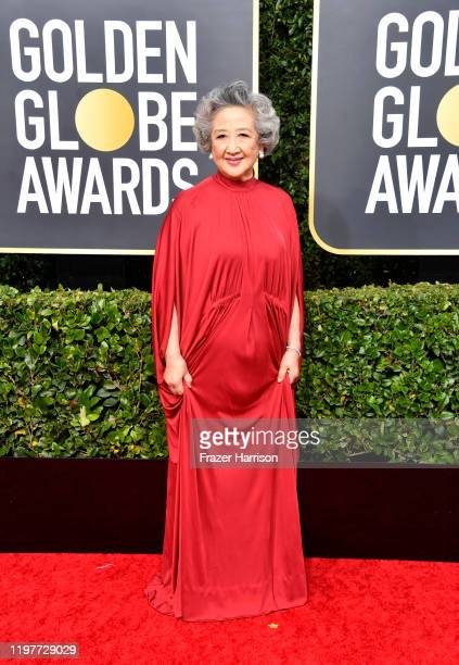 Zhao Shuzhen attends the 77th Annual Golden Globe Awards at The Beverly Hilton Hotel on January 05 2020 in Beverly Hills California