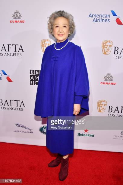 Zhao Shuzhen attends The BAFTA Los Angeles Tea Party at Four Seasons Hotel Los Angeles at Beverly Hills on January 04 2020 in Los Angeles California