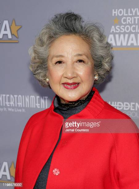 Zhao Shuzhen attends the Hollywood Critics Awards at Taglyan Complex on January 09 2020 in Los Angeles California