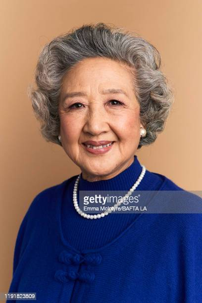 Zhao Shuzhen poses for a portrait at the 2020 BAFTA Tea Party on January 04 2020 in Beverly Hills California