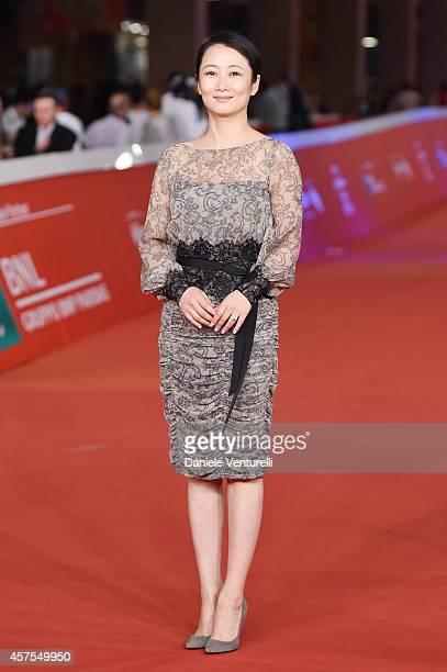 Zhao Tao attends the red carpet during the 9th Rome Film Festival on October 20 2014 in Rome Italy