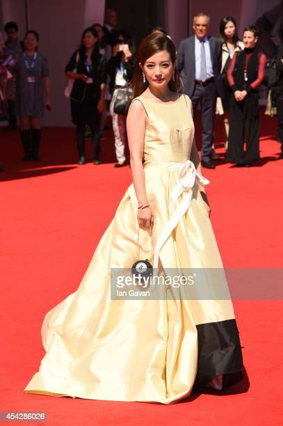 Zhao Wei attends the 'Dearest' premiere during the 71st Venice Film Festival on August 28 2014 in Venice Italy