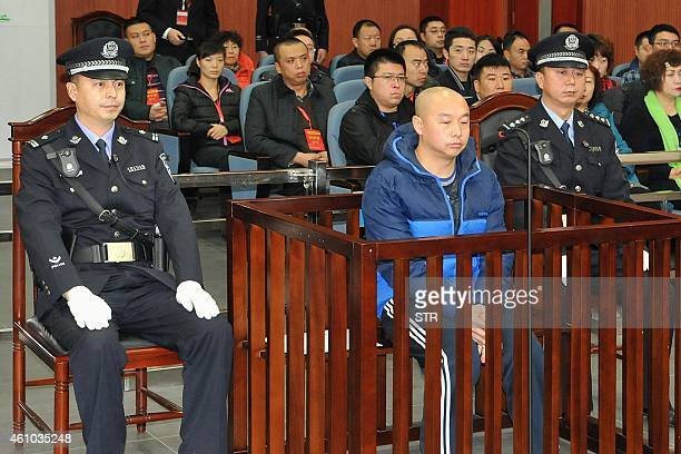 Zhao Zhihong a man who confessed to murdering a woman in China 18 years ago went on trial in the Intermediate People's Court in Hohhot north China's...