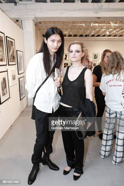 Zhengyang Zhang and Guinevere van Seenus during the Humane Society Of New York In Partnership With Aperture Foundation Fine Art Photography Benefit...