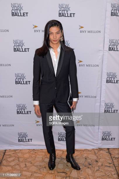 Zhengyang Zhang attends the 8th Annual New York City Ballet Fall Fashion Gala at David H. Koch Theater, Lincoln Center.