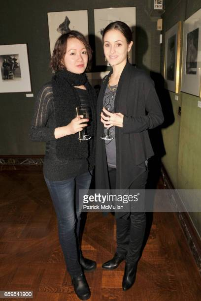 ZhongJing Fang and Melanie Hamrick attend AMERICAN BALLET THEATRE's JUNIOR COUNCIL Host an Evening at THE FORBES GALLERIES at Forbes Building on...