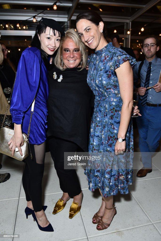 Zhongjing Fang, Joanna Fisher and Kara Barnett attend Joshua Beamish + MOVETHECOMPANY Premieres 'Saudade' in NYC at Brooklyn Academy of Music on October 11, 2017 in New York City.