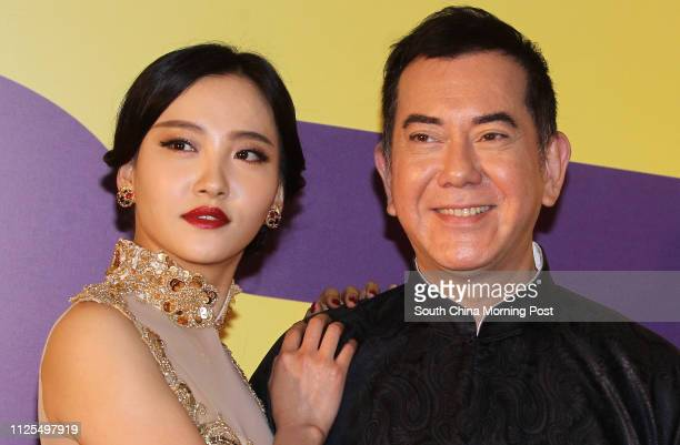 Zhou Chuchu and Anthony Wong Chausang attend the 37th HKIFF opening ceremony at Hong Kong Convention and Exhibition Centre17MAR13