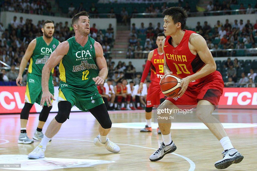 China v Australia - Men's Basketball : News Photo