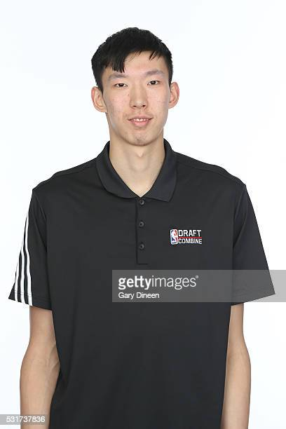 Zhou Qi poses for a medical imaging head shot as part of the 2016 NBA Draft Combine on May 14 2016 at Northwestern Memorial Hospital in Chicago...