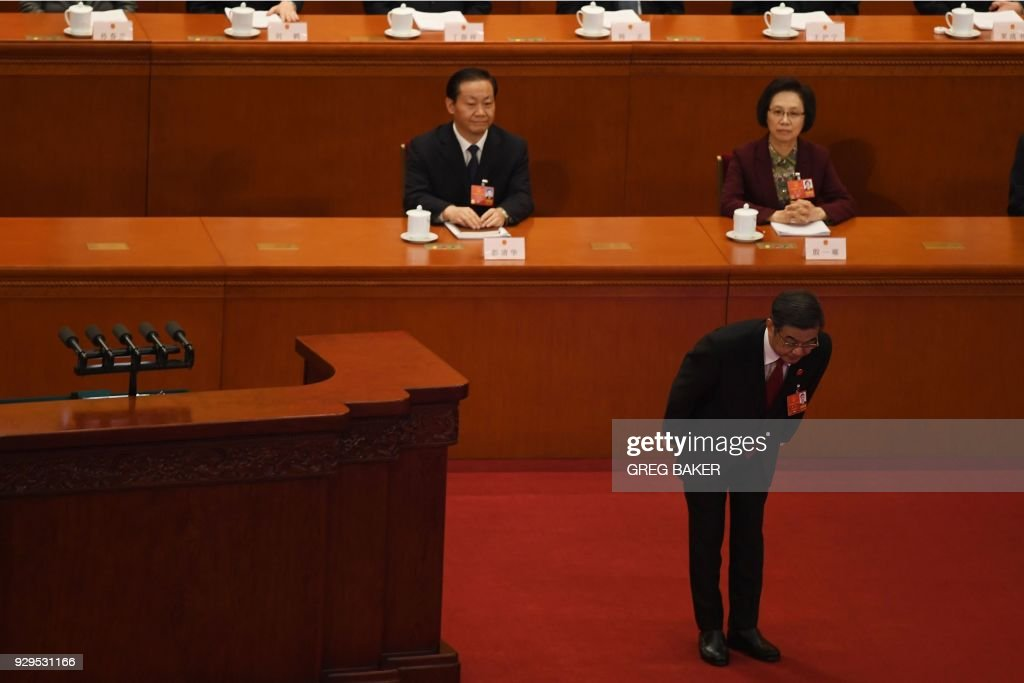 CHINA-POLITICS : News Photo