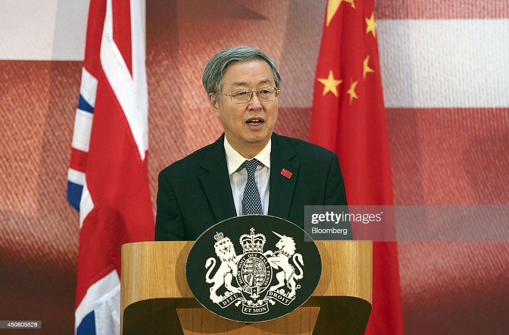 Chinese Premier Li Keqiang U.K. Visit : News Photo