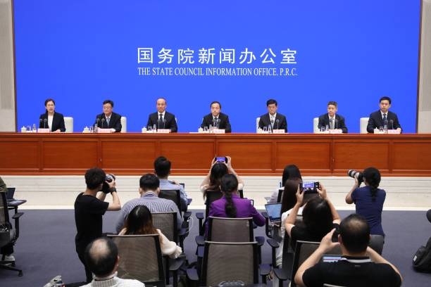 CHN: News Conference On Flood Control And Disaster Relief