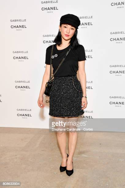 Zhou Xun attends the launch party for Chanel's new perfume 'Gabrielle' as part of Paris Fashion Week on July 4 2017 in Paris France