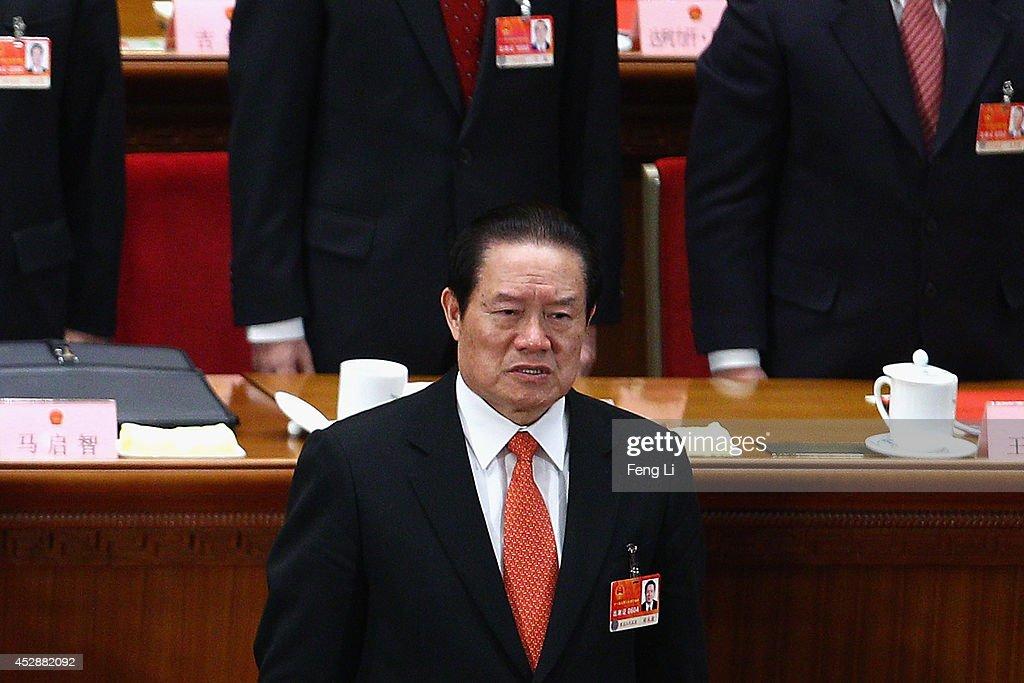 Zhou Yongkang Falls In China Corruption Purge : News Photo
