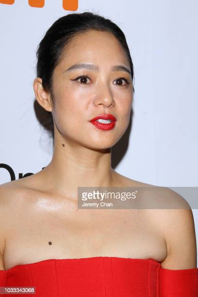 Zhou Yun attends the 'Hidden Man' premiere during 2018 Toronto International Film Festival at Roy Thomson Hall on September 14 2018 in Toronto Canada