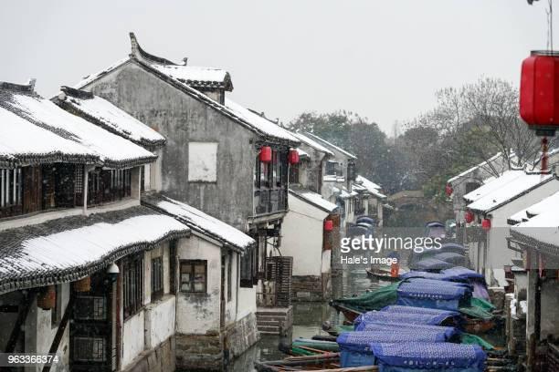 Zhouzhuang, China-Jan. 27, 2018