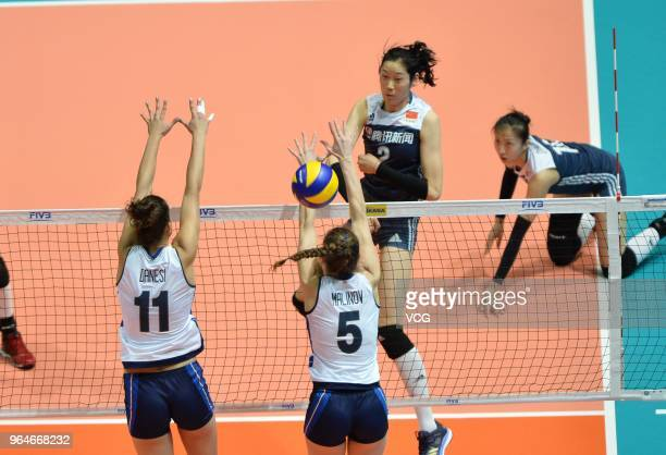 60 Top Volleyball Nations League Hong Kong Day 3 Pictures, Photos