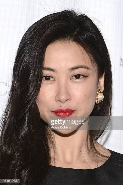 Zhu Zhu attends the 'Shanghai Calling' Los Angeles premiere at TCL Chinese Theatre on February 12 2013 in Hollywood California