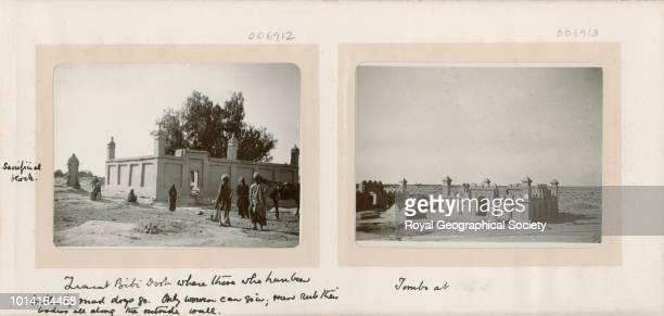 Ziarat Bibi Dast/ Tombs Afghanistan 1903