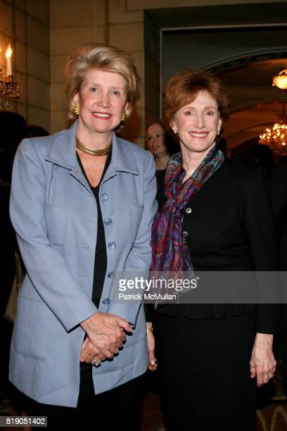 Zibby Tozer and Lynn Nicholas attend FOUNTAIN HOUSE Symposium and Luncheon at The Pierre on May 3 2010 in New York