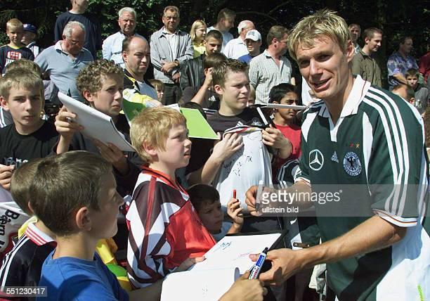 Zickler Alexander Germany former German national soccer player Reinbek August 2000