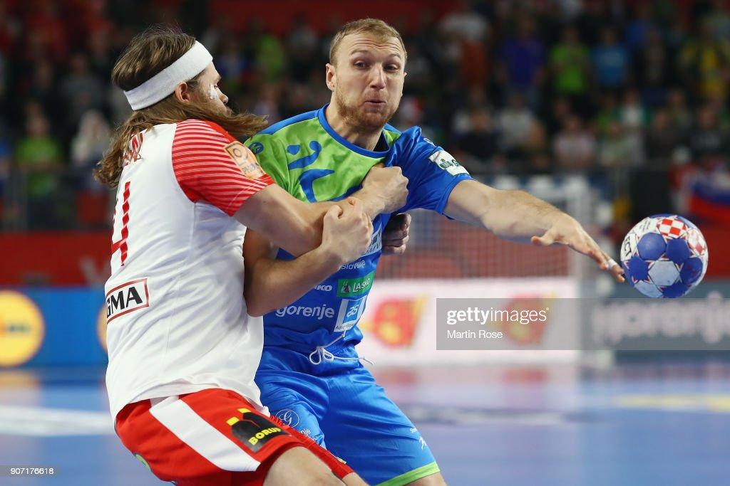 Slovenia v Denmark - EHF Euro Croatia 2018