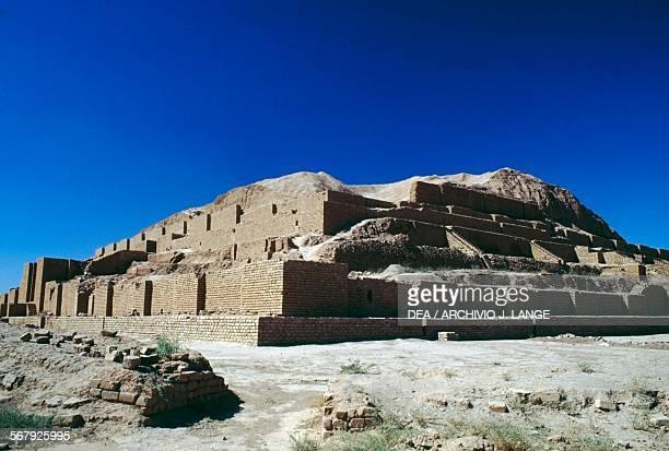 Ziggurat in the Chogha Zanbil complex Iran Elamite civilisation 13th century BC