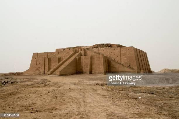 ziggurat of ur - ziggurat stock photos and pictures