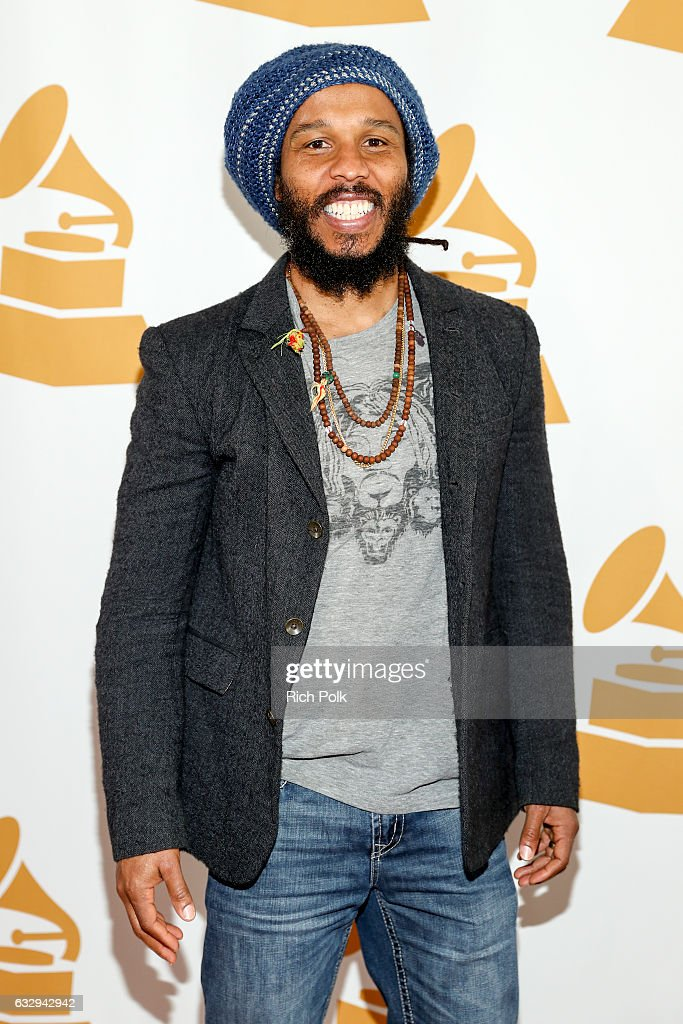 Ziggy Marley arrives at the 3rd Annual Los Angeles Chapter Nominee Brunch Celebration at Fig & Olive on January 28, 2017 in West Hollywood, California.