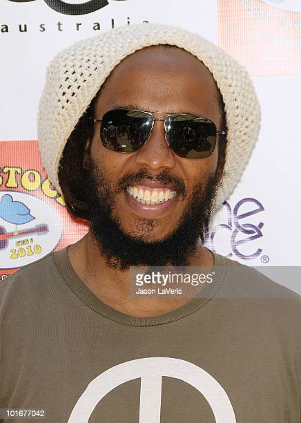Ziggy Marley attends the 4th annual Kidstock Music Arts Festival at Greystone Mansion on June 6 2010 in Beverly Hills California