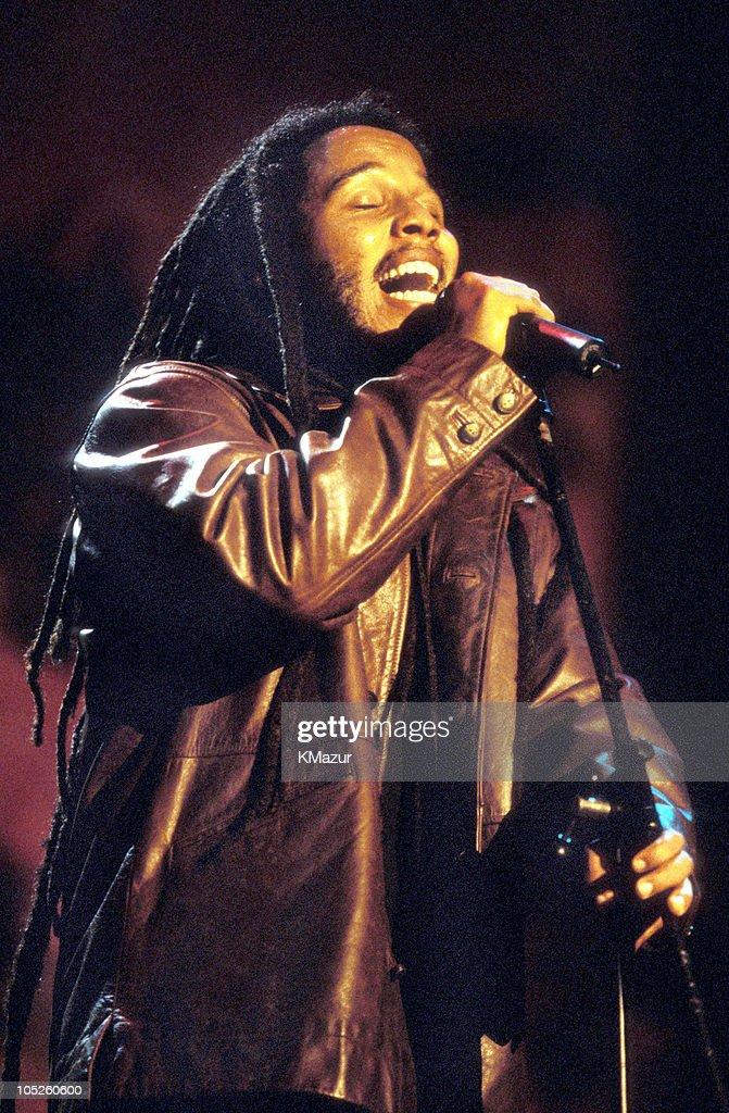 Ziggy Marley during TNT Bob Marley All Star Tribute at James Bond Beach in Oracabeca Beach, Jamaica, Jamaica.