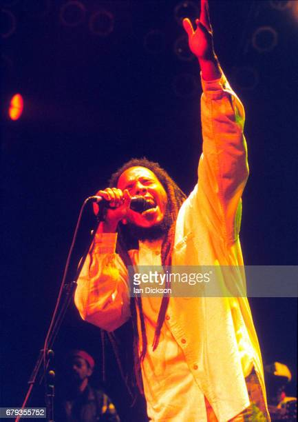 Ziggy Marley performing on stage at The Forum, Kentish Town, London, 01 July 1997.