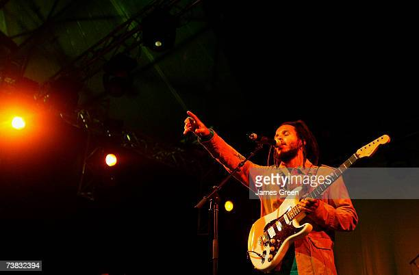 Ziggy Marley performs on stage at the 18th Annual Bluesfest East Coast Blues Roots Festival at Red Devil Park on April 6 2007 in Byron Bay Australia