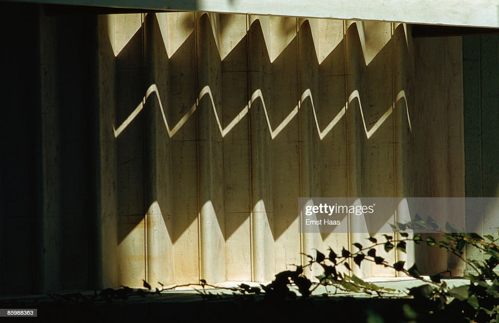 Zig-zag shadows on a set of concertina doors in the USA January 1959 & Folding Doors Pictures   Getty Images