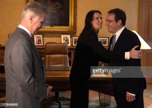 Zijne Majesteit de Koning ontvangt mevr minister Sophie Wilmès in audiëntie in het Paleis te Brussel om 16u Aansluitend op deze audiëntie volgt de...