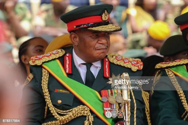 Zimbabwe Army General Constantino Chiwenga at the National Sports Stadium during Emmerson Mnangagwa's oathtaking ceremony following Robert Mugabes...