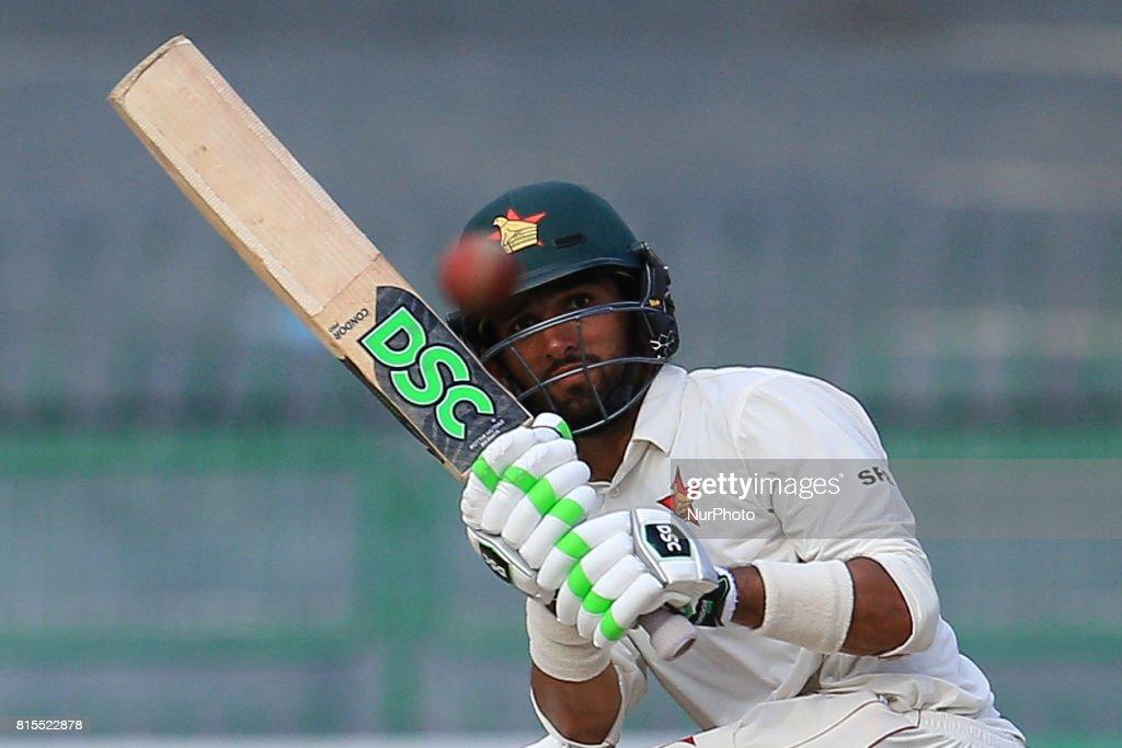 Sri Lanka v Zimbabwe Test Match 3rd Day : News Photo