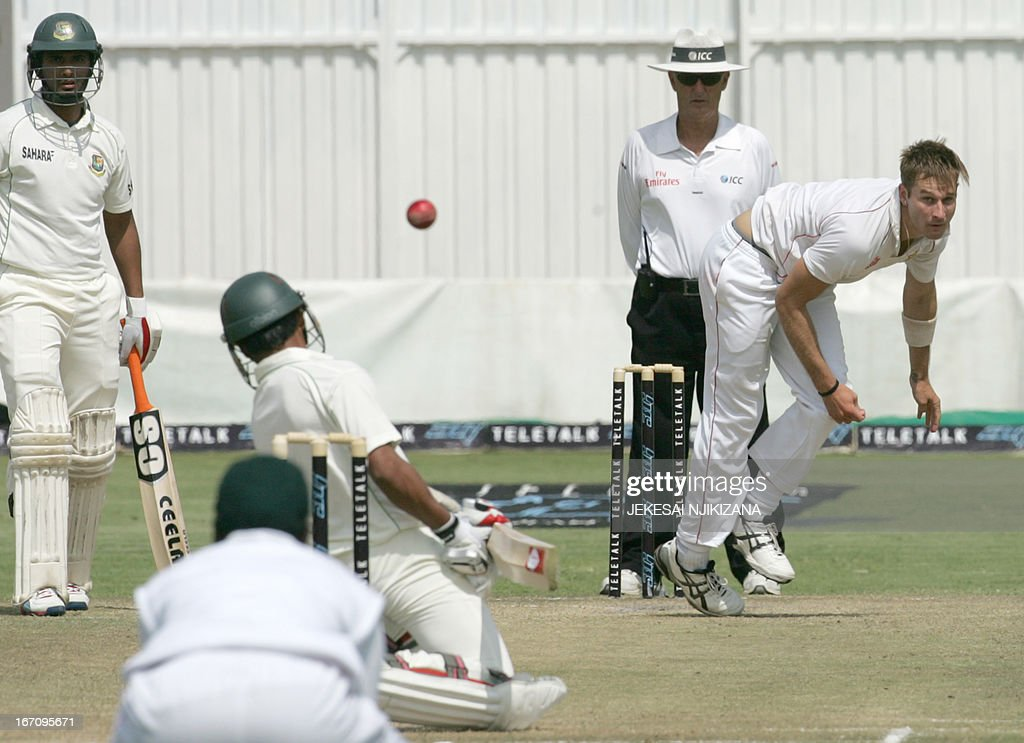 CRICKET-ZIM-BAN : News Photo