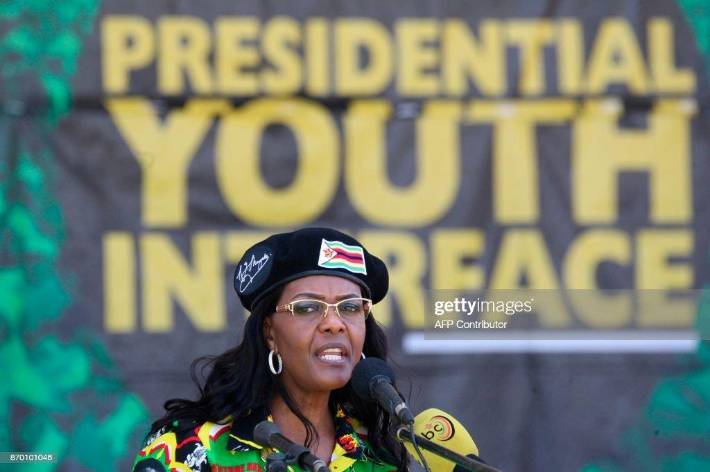 ZIMBABWE-POLITICS-PARTY : News Photo