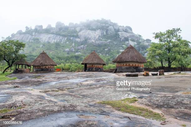 zimbabwe: traditional village - zimbabwe stock pictures, royalty-free photos & images