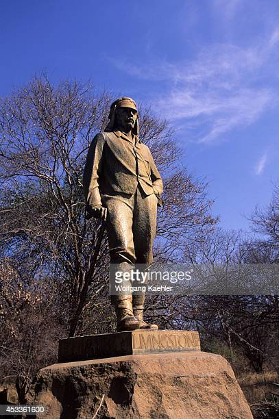 Zimbabwe Victoria Falls Statue Of Livingstone