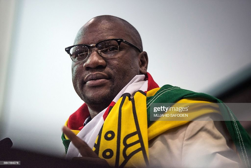 SAFRICA-ZIMBABWE-POLITICS : News Photo