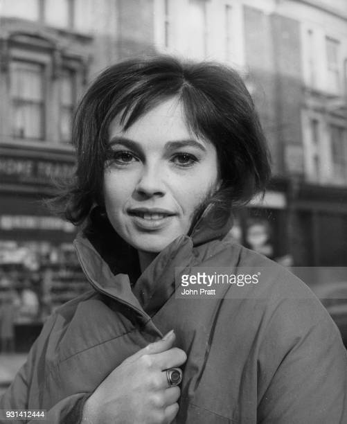Zimbabweborn actress Kathleen Breck who is set to star in the film 'West 11' pictured in London 2nd December 1962